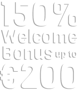100% welcome bonus up to 200 Euros